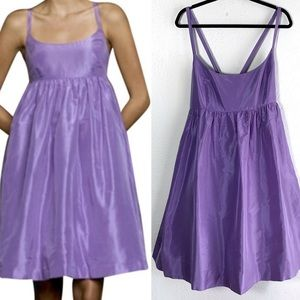 J.Crew Silk Taffeta Ballerina Dress Pockets